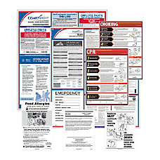ComplyRight Federal State And Restaurant Poster