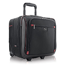 Solo 16 Sterling Rolling Overnighter Case