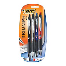 BIC Triumph Retractable Gel Pens 07