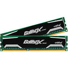 Crucial 16GB Kit 8GBx2 Ballistix 240