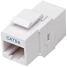 Intellinet Cat5e Inline Coupler Keystone Type