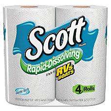 Scott Rapid Dissolving Tissue 1 Ply