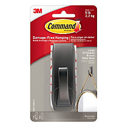 Command Modern Reflections Metal Hook Large