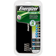 Energizer Recharge Universal Battery Charger For