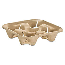 Chinet StrongHolder 4 Cup Tray 1