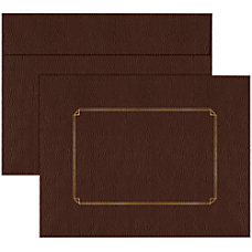 Great Papers Certificate Envelope Leather 13