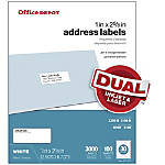 Inkjet & Laser Address Labels