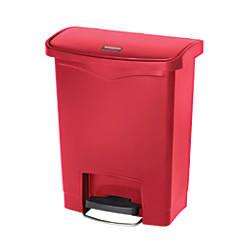 Rubbermaid Slim Jim Rectangular Plastic Wastebasket