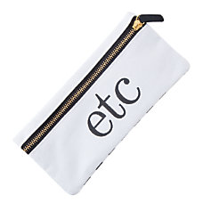 See Jane Work Pencil Pouch White