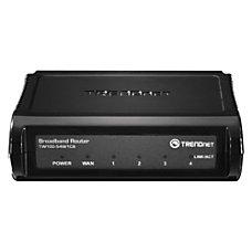 TRENDnet TW100 S4W1CA Broadband Router