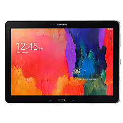 "Samsung Galaxy Note® Pro Android™ Tablet With 12.2"" Screen, 64GB Storage, Black"
