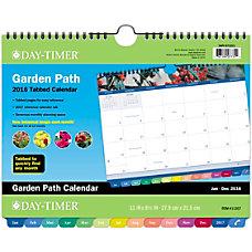 Day Timer Garden Path Wall Calendar