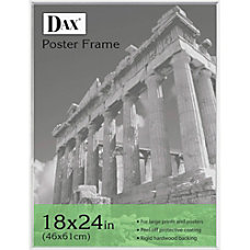 DAX Clear U Channel Poster Frame