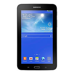 "Samsung Galaxy Tab® 3 Lite Tablet With 7"" Screen, 8GB Storage, Black"