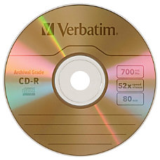 Verbatim UltraLife CD Recordable Media CD