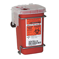 Medline Multipurpose Biohazard Sharps Containers 12