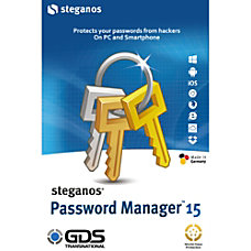 Steganos Password Manager 15 1 PC