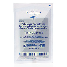 Medline Sterile Fenestrated Drapes 18 x