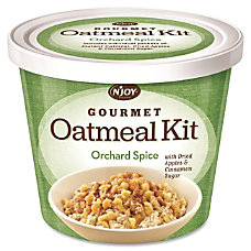 Sugarfoods Gourmet Oatmeal Kit Orchard Spice