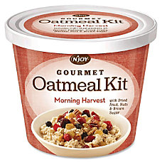 Sugarfoods Gourmet Toppings Oatmeal Cups Morning