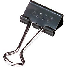 ACCO Binder Clips Small 34 Wide