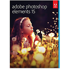 Adobe Photoshop Elements 15 Download Version