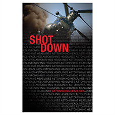 Saddleback Astonishing Headlines Book Shot Down