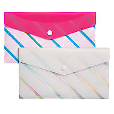 Divoga Poly Snap Check Envelope Sweet