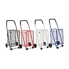 DMI Folding Aluminum Shopping Carts 36