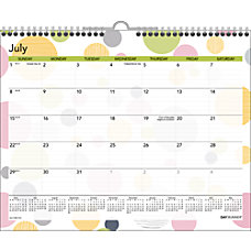 Day Runner Monthly Wall Calendar 15