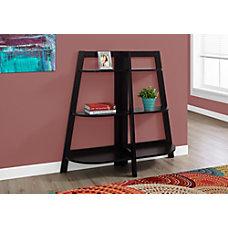 Monarch Specialties Etagere 6 Shelf Bookcase