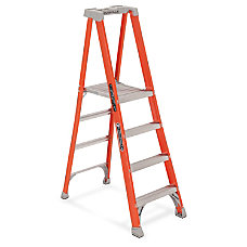 Louisville 4 Fibrglss Platform Step Ladder