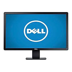 """Dell™ E2414H 24"""" Widescreen HD LED Monitor, Black"""