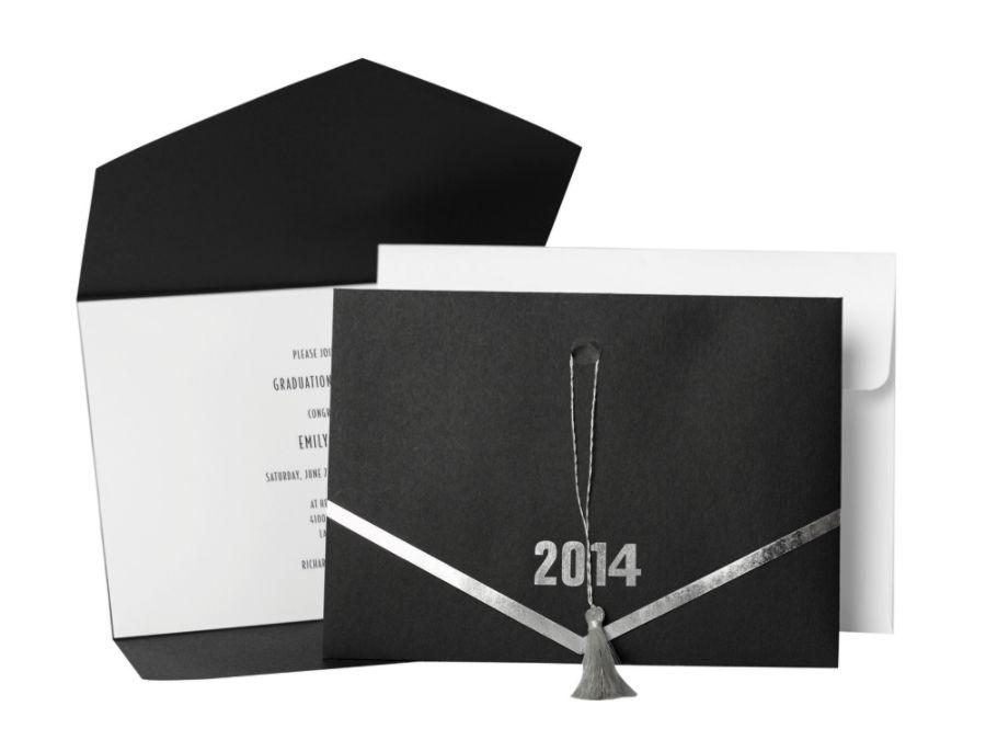 Great Papers Graduation Invitation Kit 5 12 x 7 34 2014 Grad Hat