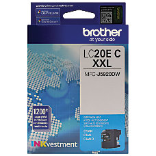 Brother INKvestment LC20EC Extra High Yield