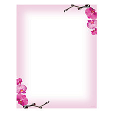 Great Papers Design Paper Pink Orchids