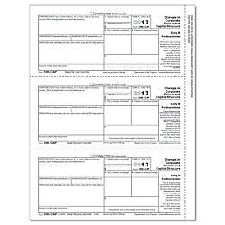 ComplyRight 1099 CAP InkjetLaser Tax Forms