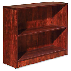 Lorell Essentials Series Cherry Laminate Bookcase