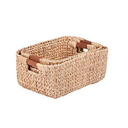 Honey Can Do Water Hyacinth Baskets