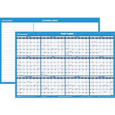 AT A GLANCE Yearly Horizontal ErasableReversible