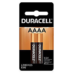 Duracell Ultra Alkaline AAAA Batteries Pack