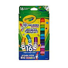Crayola Pip Squeaks Skinnies Markers Assorted
