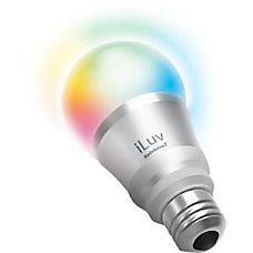 iLuv Rainbow7 Smartphone Controlled Dimmable Multicolored