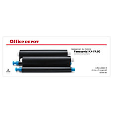 Office Depot Brand KX FA93 Panasonic
