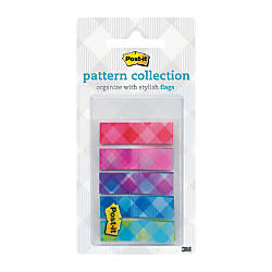 Post it Designer Plaid Collection Patterned