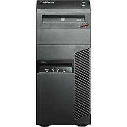 Lenovo ThinkCentre M91p 4524E1U Desktop Computer - Intel Core i5 i5-2500 3.3GHz - Tower - Business Black