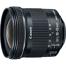 Canon 10 mm 18 mm f45