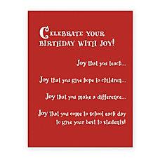 The Master Teacher Celebrate With Joy