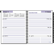 DayMinder Executive 30percent Recycled WeeklyMonthly Planner