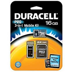 Duracell DU 3IN1C1016G R 16 GB